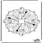 Invierno - Mandala de invierno 4