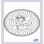 Invierno - Mandala de invierno 6