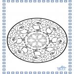 Invierno - Mandala de invierno