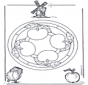Mandala de Manzanas