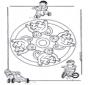 Mandala de Monos