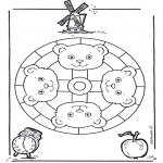 Mandalas - Mandala de Osos