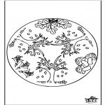 Mandalas - Mandala de Otoño 1