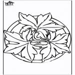 Mandalas - Mandala de Otoño 2