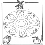Mandalas - Mandala de Pies