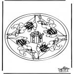 Mandalas - Mandala de ratón 2
