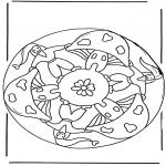 Diversos - Mandala de seta 2