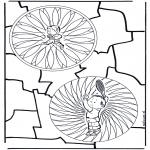Mandalas - Mandala Dual Infantil