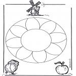 Mandalas - Mandala Floral 1
