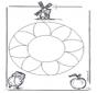 Mandala Floral 1