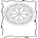 Mandalas - Mandala Floral 3