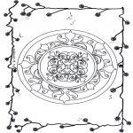 Mandalas - Mandala Floral 5