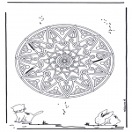 Mandalas - Mandala Geométrica Animal 2
