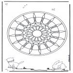 Mandalas - Mandala Geométrica Animal 4