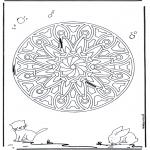 Mandalas - Mandala Geométrica Animal 6