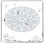 Mandala Geométrica Animal 6
