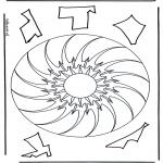 Mandalas - Mandala Geométrico 10