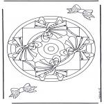 Mandalas - Mandala Geométrico 9