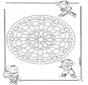 Mandala Geométrico Infantil 1