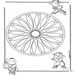 Mandalas - Mandala Geométrico Infantil 2