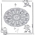 Mandalas - Mandala Geométrico