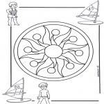 Mandalas - Mandala Infantil 1