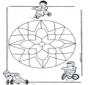 Mandala Infantil 10