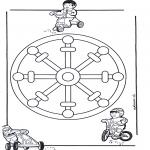 Mandalas - Mandala Infantil 11