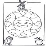 Mandalas - Mandala Infantil 15
