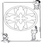 Mandalas - Mandala Infantil 16