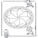Mandalas - Mandala Infantil 19