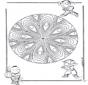 Mandala Infantil 21
