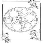 Mandalas - Mandala Infantil 24