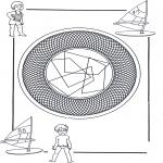 Mandalas - Mandala Infantil 25