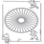 Mandalas - Mandala Infantil 26