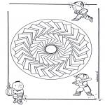 Mandalas - Mandala Infantil 27