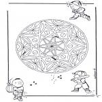 Mandalas - Mandala Infantil/Geométrico