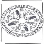 Mandalas - Mandala Primaveral