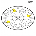 Mandalas - Mandala - Sol