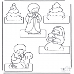 Navidad - Manualidades: Nacimiento 2