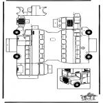 Manualidades - Maqueta de autobús de dos pisos