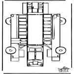 Manualidades - Maqueta de autobús