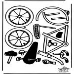 Manualidades - Maqueta de bicicleta