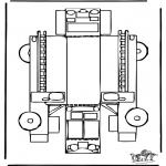 Manualidades - Maqueta de bomberos