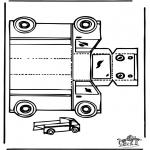 Manualidades - Maqueta de camión
