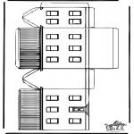 Manualidades - Maqueta de casa 1