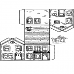 Manualidades - Maqueta de casa 3