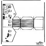 Manualidades - Maqueta de granero