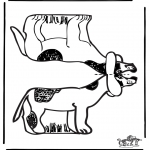 Manualidades - Maqueta de perro