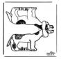 Maqueta de perro